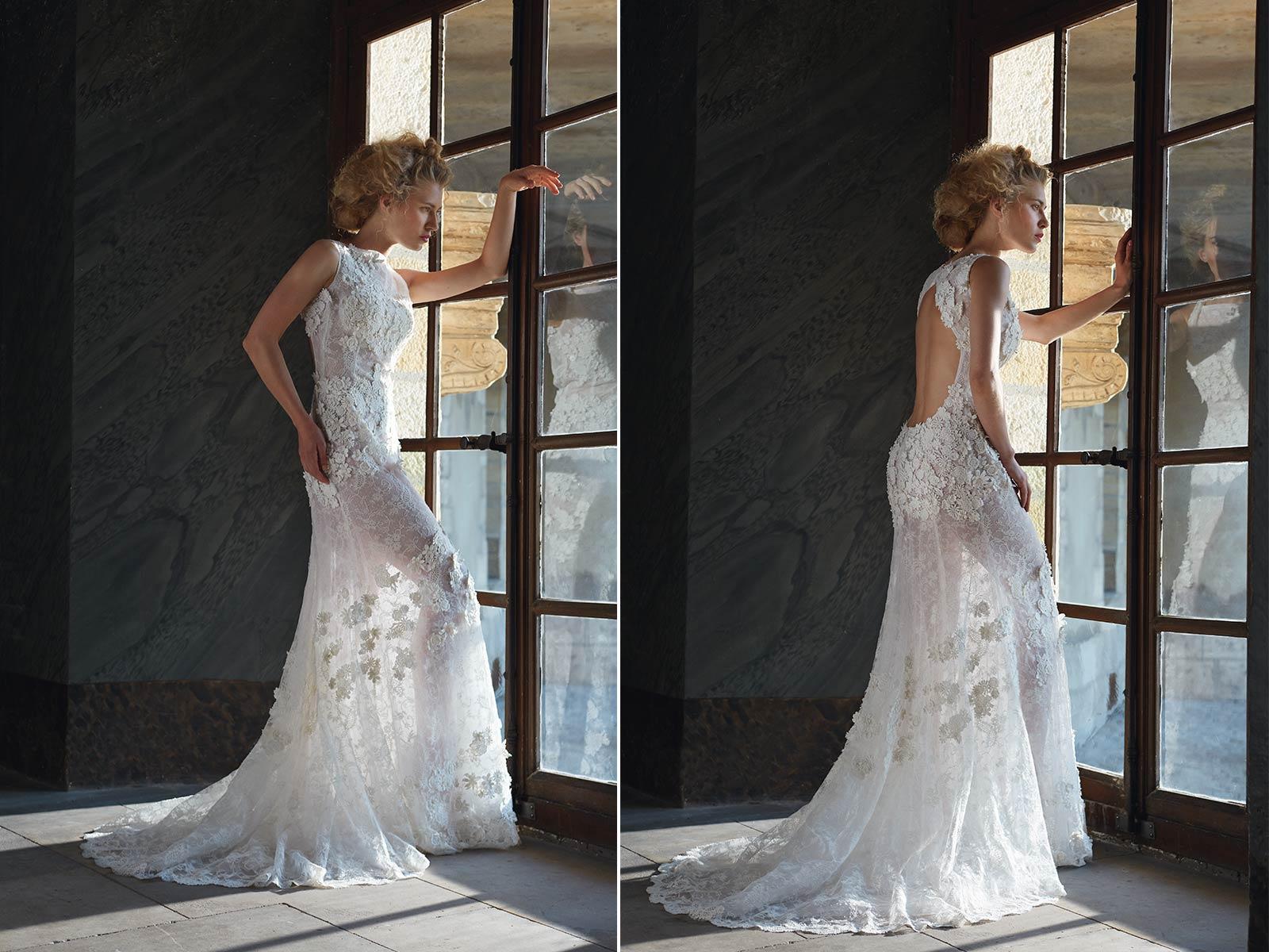 abito da sposa cymbeline - location campagna
