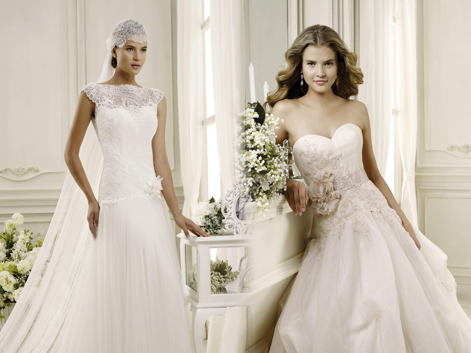 Che abito da sposa sei? Elegante e tradizionale