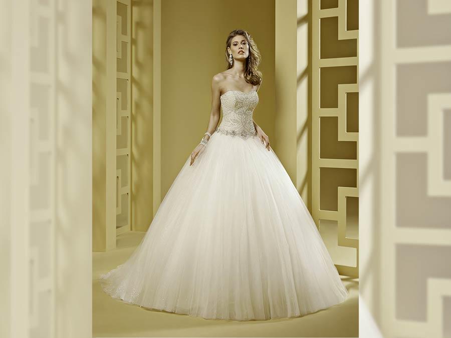Che abito da sposa sei? Romantico e fiabesco