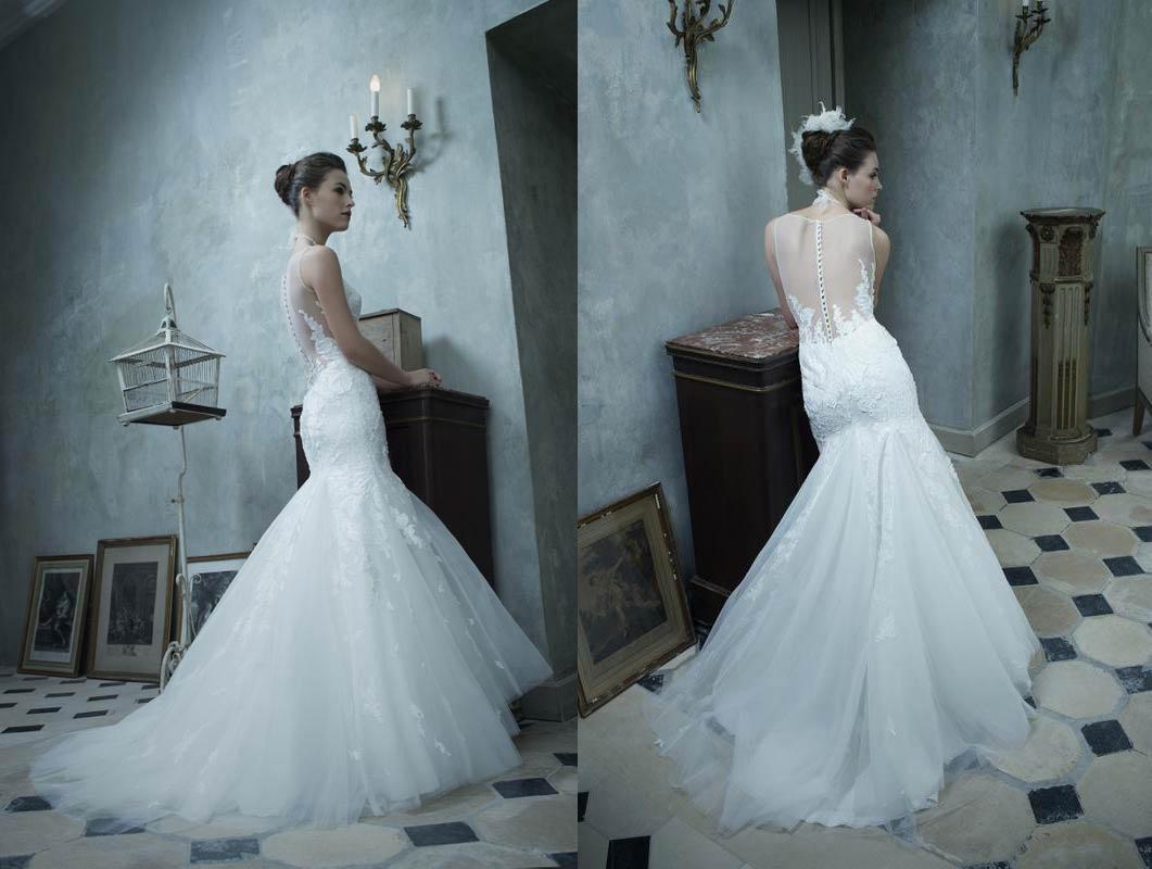 bottoni sulla schiena abiti da sposa dettagli preziosi