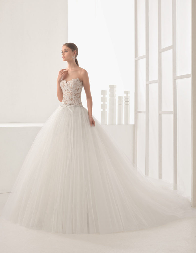 bouquet abiti da sposa rosa clarà